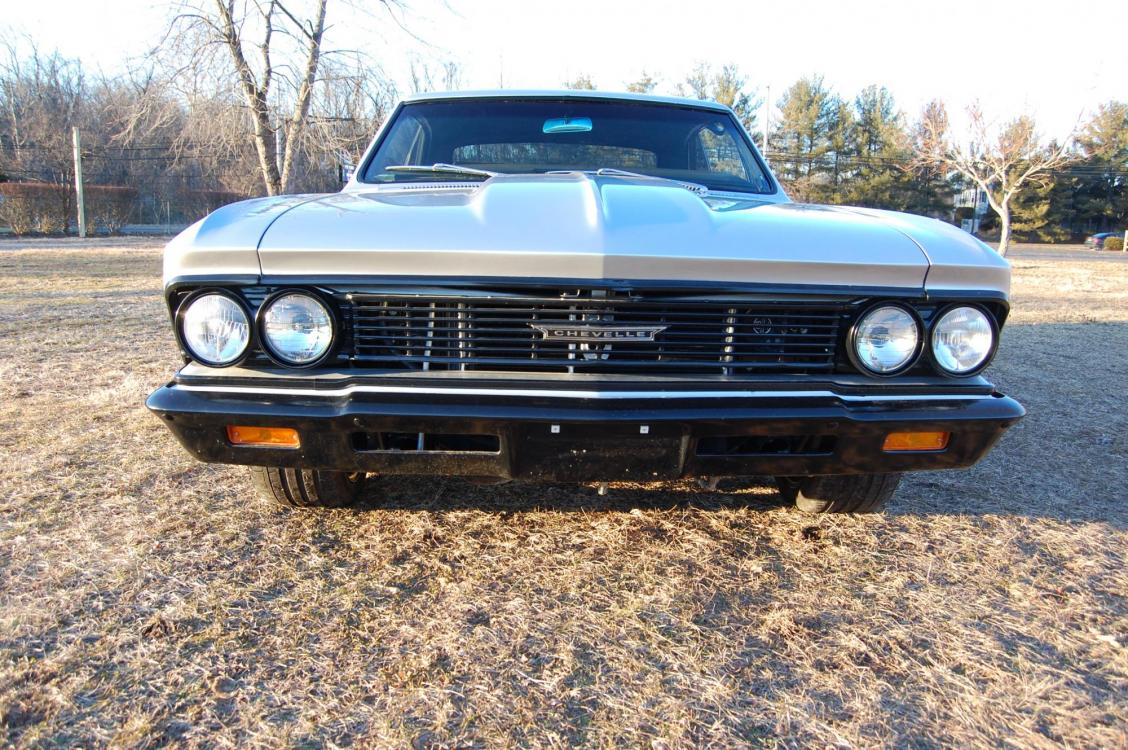 1966 /Black Chevrolet Chevelle (136176K1702) with an Supercharged V8 engine, Automatic transmission, located at 6528 Lower York Road, New Hope, PA, 18938, (215) 862-9555, 40.358707, -74.977882 - Photo #8