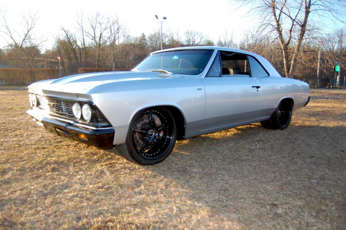 1966 /Black Chevrolet Chevelle (136176K1702) with an Supercharged V8 engine, Automatic transmission, located at 6528 Lower York Road, New Hope, PA, 18938, (215) 862-9555, 40.358707, -74.977882 - Photo #0